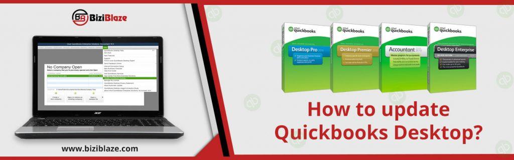 How to update Quickbooks Desktop